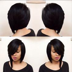 Stunning Bob by @hairbylatise - Black Hair Information Community
