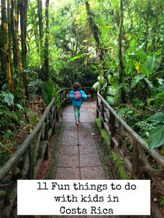 11 Fun things to do with kids in Costa Rica, if you are traveling to Costa Rica with kids you won't want to miss this list and the bonus activities at the end of the post are also great ideas!