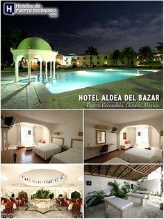 HOTEL ALDEA DEL BAZAR Puerto Escondido, Oaxaca, México. http://www.hotelesdepuertoescondido.com/hotelaldeadelbazar.html #hoteles #oaxaca #puerto #puertoescondido