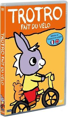 Trotro - Vol. 1 : Trotro fait du vélo (2004) - DVD