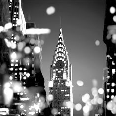 Black Framed Wall Art, New York Poster, Romance Art, I Love Nyc, New York Art, City Lights, Night Lights, Stretched Canvas Prints, Yorkie