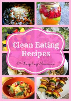 Clean Eating Recipes | STOCKPILING MOMS™