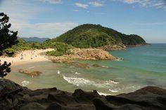 Praia do Meio, em Trindade, Paraty. Visite o BrasilGuias