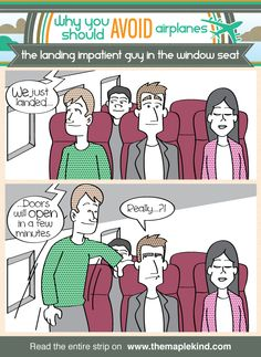 Why you should avoid airplanes