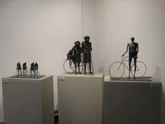 Esculturas bicis.  Expo Granada 2010