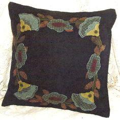 Primitive Folk Art Wool Applique Pattern  RING by PrimFolkArtShop, $9.50