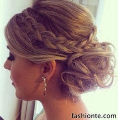 Boho Hairstyles with Braids – Bun Updos 2015 | Fashion Te