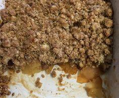 Receita Crumble de Maçãs rapido por Assiralc - Categoria da receita Sobremesas