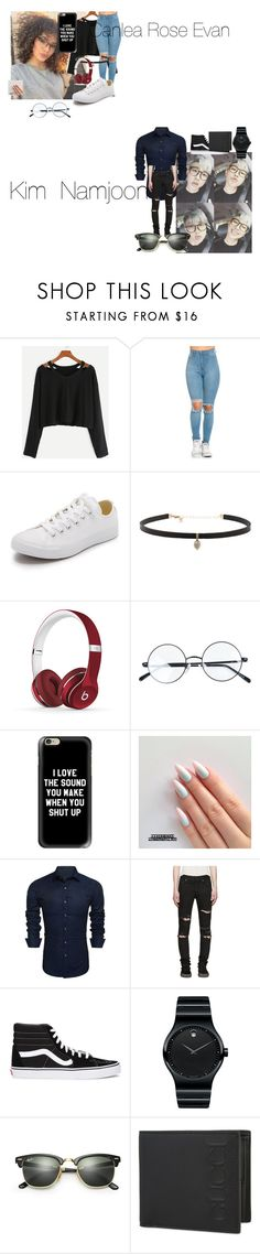 """Blur"" by teylorann ❤ liked on Polyvore featuring Converse, Carbon & Hyde, Beats by Dr. Dre, Casetify, Yves Saint Laurent, Vans, Movado, Ray-Ban and Gucci"