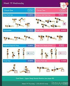 Next Bikini body guide Kayla Workout, Kayla Itsines Workout, Workout Challenge, Bikini Body Guide, Upper Body Stretches, Bbg Workouts, Squat Press, Dumbbell Squat, Weighted Squats