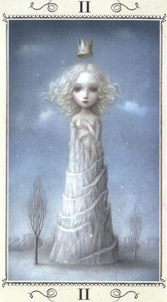 The High Priestess - Nicoletta Ceccoli Tarot