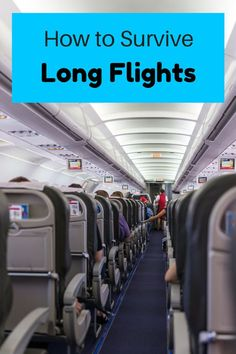 The ultimate guide on how to survive a long flight in economy- what to wear, carry-on bag essentials and other long-haul flight tips. ******************************************** Long Flights Tips Packing Tips For Travel, New Travel, Travel Advice, Budget Travel, Travel Guides, Travel Hacks, Packing Lists, Travel Deals, Train Travel