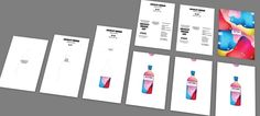 Invitation card to the presentation and party by Anton Crayon, via Behance