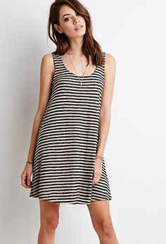 | Classic Striped Dress - Forever 21 - outfit idea - dream closet - minimal wardrobe - wear black - project 33 - capsule wardrobe