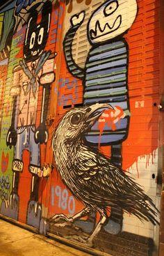 Roa by Street Art London, via Flickr
