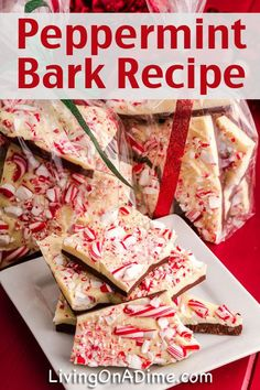 Homemade Peppermint Bark Recipe- A Gluten Free Candy you can make at home for just $3.00!
