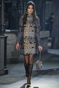 Chanel Pre-Fall 2016 Fashion Show #chanel #prefall2016 #fashion
