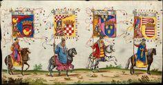 Artist: various, Title: »Triumphzug Kaiser Maximilians« Page 45, Date: 1526