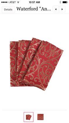Holiday napkin