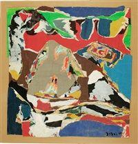 Asger Jorn -Le Bateau Bouche, 1968