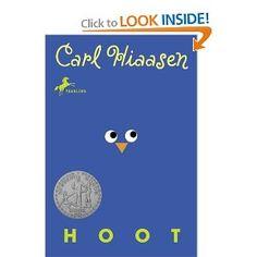 Carl Hiaasen writes fun books for both boys and girls.