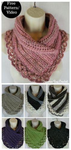 Crochet accessories 18014467247509162 - Crochet Lace Neck Warmer Free Crochet Patterns Source by karenboyd Crochet Scarves, Crochet Shawl, Crochet Clothes, Knit Crochet, Crochet Patterns For Scarves, Crochet Crafts, Easy Crochet, Free Crochet, Crochet Collar Pattern