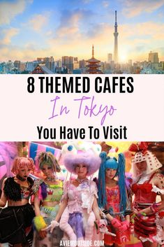 There are so many themed cafes in Tokyo from the kawaii to the outrageous. Check this post out to find out about the fun, bizarre, scary and amazing cafes and restaurants of Tokyo, Japan. You can't go to Tokyo and not visit these cafes and restaurants. Japan Travel Guide, Tokyo Travel, Asia Travel, Kawaii, Tokyo Restaurant, Photos Voyages, Ultimate Travel, Day Trips, Travel Inspiration