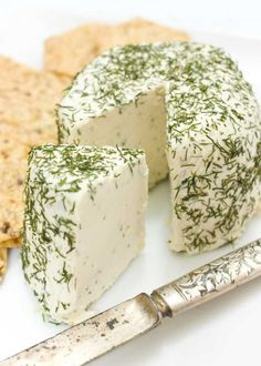 Raw Cultured Cashew Nut Cheese - Flo and Grace