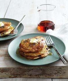 cornmeal pancakes with ham recipes dishmaps cornmeal pancakes with ham ...