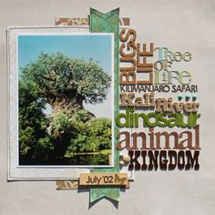 Animal Kingdom title page 02 - layout by Susan Stringfellow - love it as usual!
