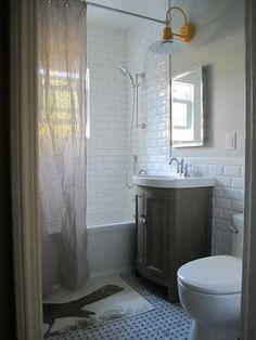 Musebootsi: Gray And Yellow Bathroom | Fabulous Job!