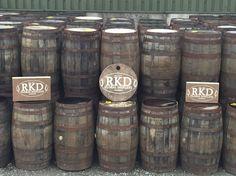 Whiskey Barrels Supplied By RKD Floral Displays Whiskey Barrels, Beer, Display, Mugs, Tableware, Floral, Root Beer, Floor Space, Ale