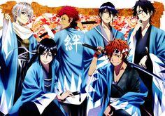 K: Project - Shiro, Kuroh, Mikoto, Reisi, Misaki & Saruhiko
