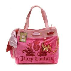 Juicy Couture Ring Bling Daydreamer Handbag Pink $73.85
