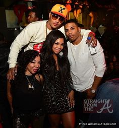 Double Date – T.I. & Tiny Join Nelly & Ashanti For Birthday Celebrations in ATL [PHOTOS]