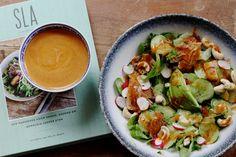 Thaise salade uit het SLA kookboek