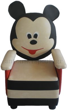 mickey mouse in Home and Garden Disney Home, Mickey Mouse, Disney Characters, Fictional Characters, Home And Garden, Armchairs, Kids, Art, Decor