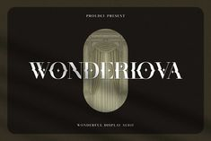 Wonderlova - Wonderful Display Serif by Mokatype Studio on @creativemarket