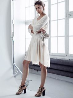 Andreea Diaconu for H&M Consious Collection