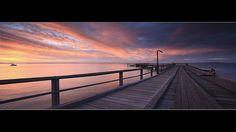 Fraser Island Sunset by Garry - www.visionandimagination.com, via Flickr
