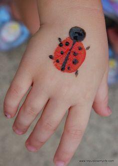Simple little lady bug