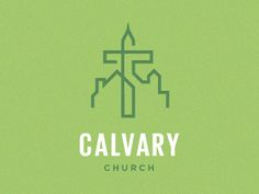 Calvary Church concept logo by http://www.theinfantree.com/