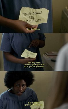 And this is why I love Orange is the New Black.
