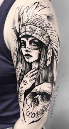 The King of fight : pi bèl tatoo a Chicano Tattoos Sleeve, Best Sleeve Tattoos, Skull Tattoos, Leg Tattoos, Body Art Tattoos, Sketch Tattoo Design, Tattoo Sketches, Tattoo Drawings, Native American Tattoos