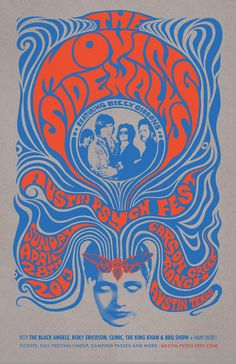 The Moving Sidewalks - Austin Psych Fest 2013 - by Mishka Westell