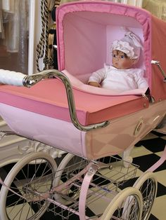 Baby carriage Victorian theme