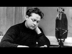 Dylan Thomas reciting his villanelle 'Do Not Go Gentle into that Good Night'