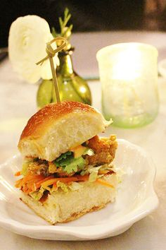 The oyster slider we still dream about at The Ordinary | The Best Charleston Restaurants