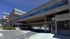 Cameron Offices - 1970-76 by John Andrews - #architecture #googlestreetview #googlemaps #googlestreet #australia #canberra #brutalism #modernism