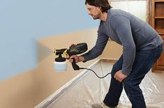 Top 10 Best Electric Paint Sprayers Reviews In 2020 Allprorev Interior Paint Sprayer, Hvlp Paint Sprayer, Using A Paint Sprayer, Paint Sprayers, Interior Painting, Paint Sprayer Reviews, Cordless Drill Reviews, Diy Home Interior, Eggshell Paint
